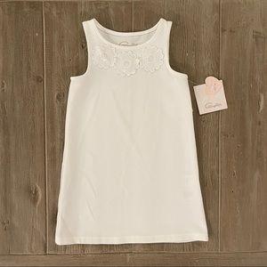 Pappagallo Girls' Sleeveless White Dress XS (4/5)